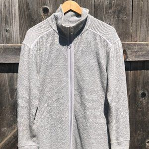 extremely comfy sweater w/zip